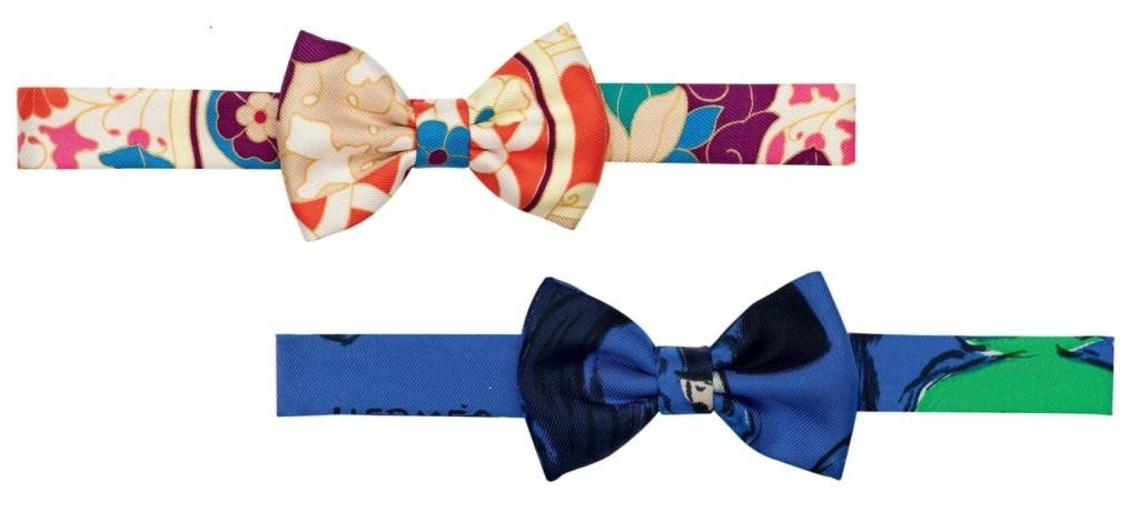 Hermès-gravata-borboleta-para-mulheres-luxos-e-brilhos