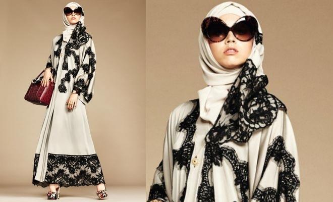Abaya  Dolce   Gabbana Lança Coleção Para Muçulmanas 9d364c0b2d