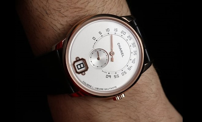 d6e701660b8 Relógios  Monsieur De Chanel Começa A Ser Vendido