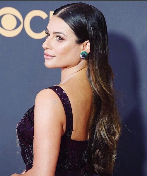 Emmy-Awards-lea-michele-luxos-e-brilhos